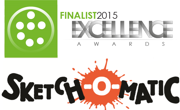 Sketch-O-Matic Nominated for 2015 Excellence Award