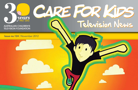 Care for Kids newsletter Nov 2012