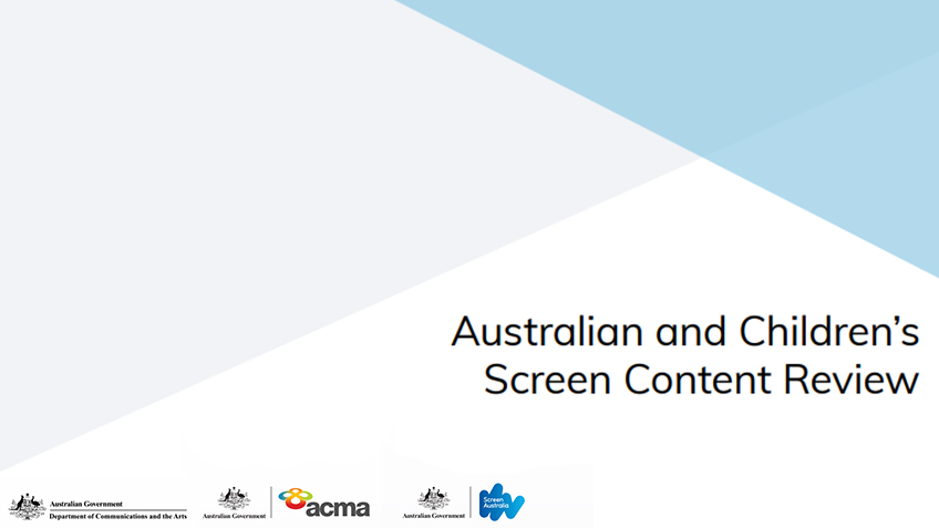 Australian and Children's Screen Content Review: Consultation Paper Released