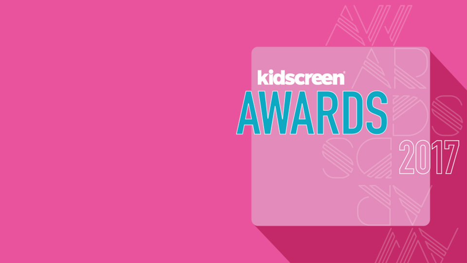 Three series nominated for Kidscreen 2017!