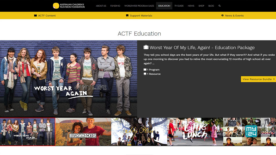 ACTF Education has a New Look