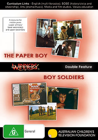 Winners and More Winners - The Paper Boy & Boy Soldiers - DVD