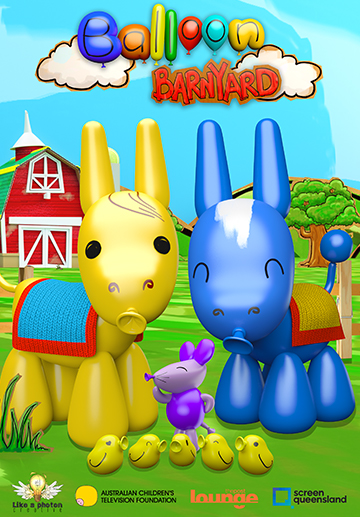 Balloon Barnyard - Digital Download