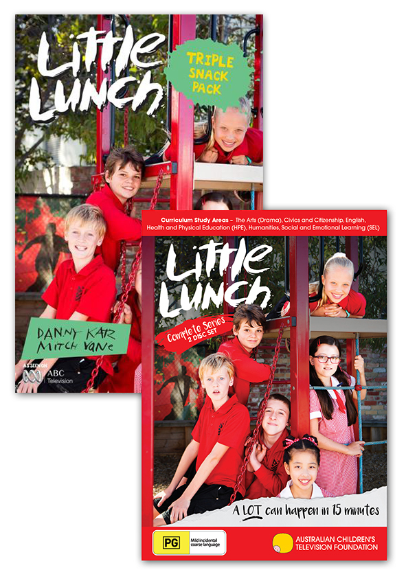 Little Lunch - DVD and Triple Snack Pack Book Pack