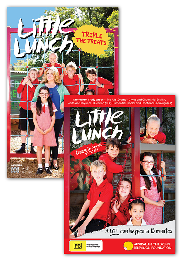 Little Lunch - DVD and Book Pack