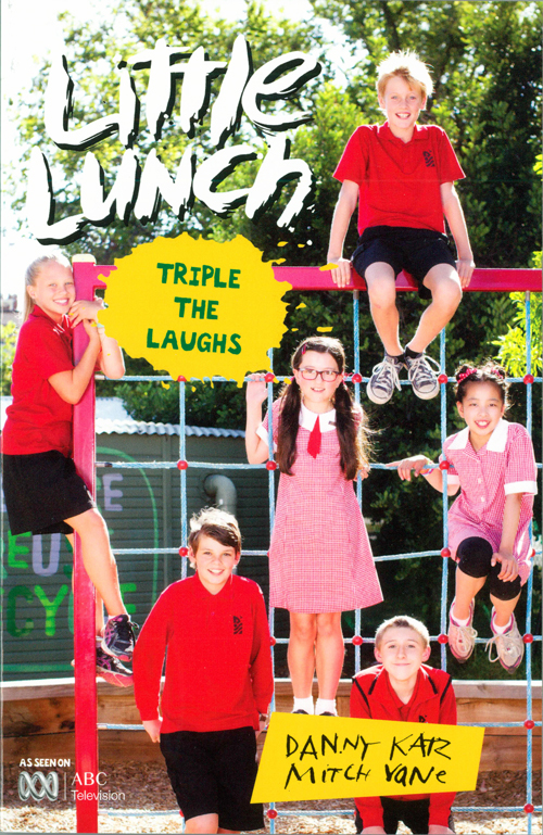 Little Lunch: Triple The Laughs Novel