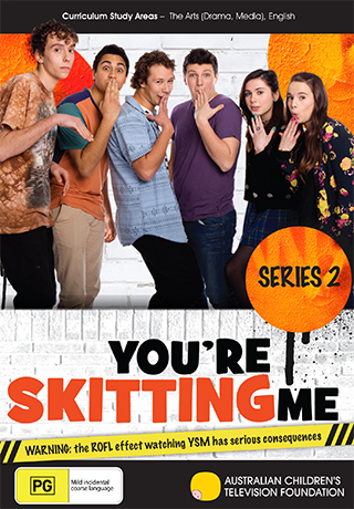 You're Skitting Me - Series 2 - DVD