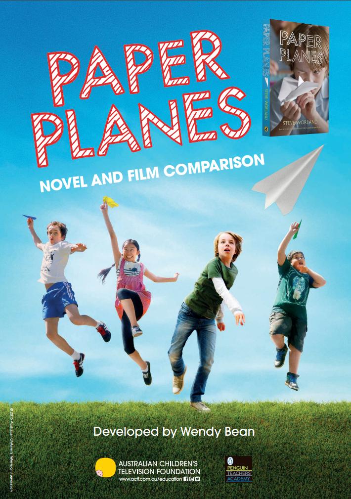 paper planes novel and film comparison actf education. Black Bedroom Furniture Sets. Home Design Ideas