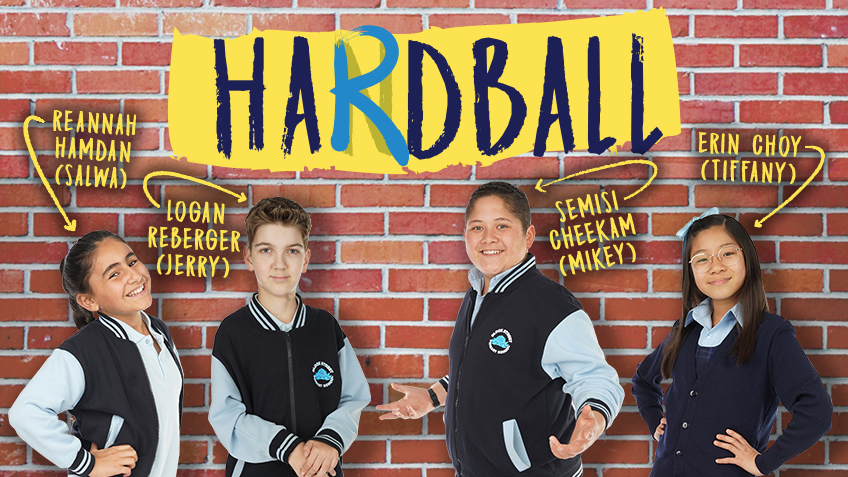 Register Your Primary School for the Hardball Cast Q&A
