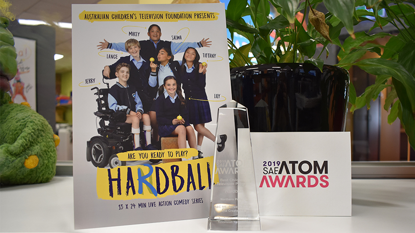 Hardball Wins 2019 SAE ATOM Award
