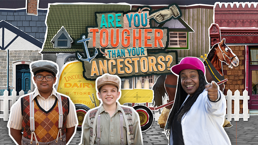 Coming in Term 4: Are You Tougher Than Your Ancestors? Q&A Webinar