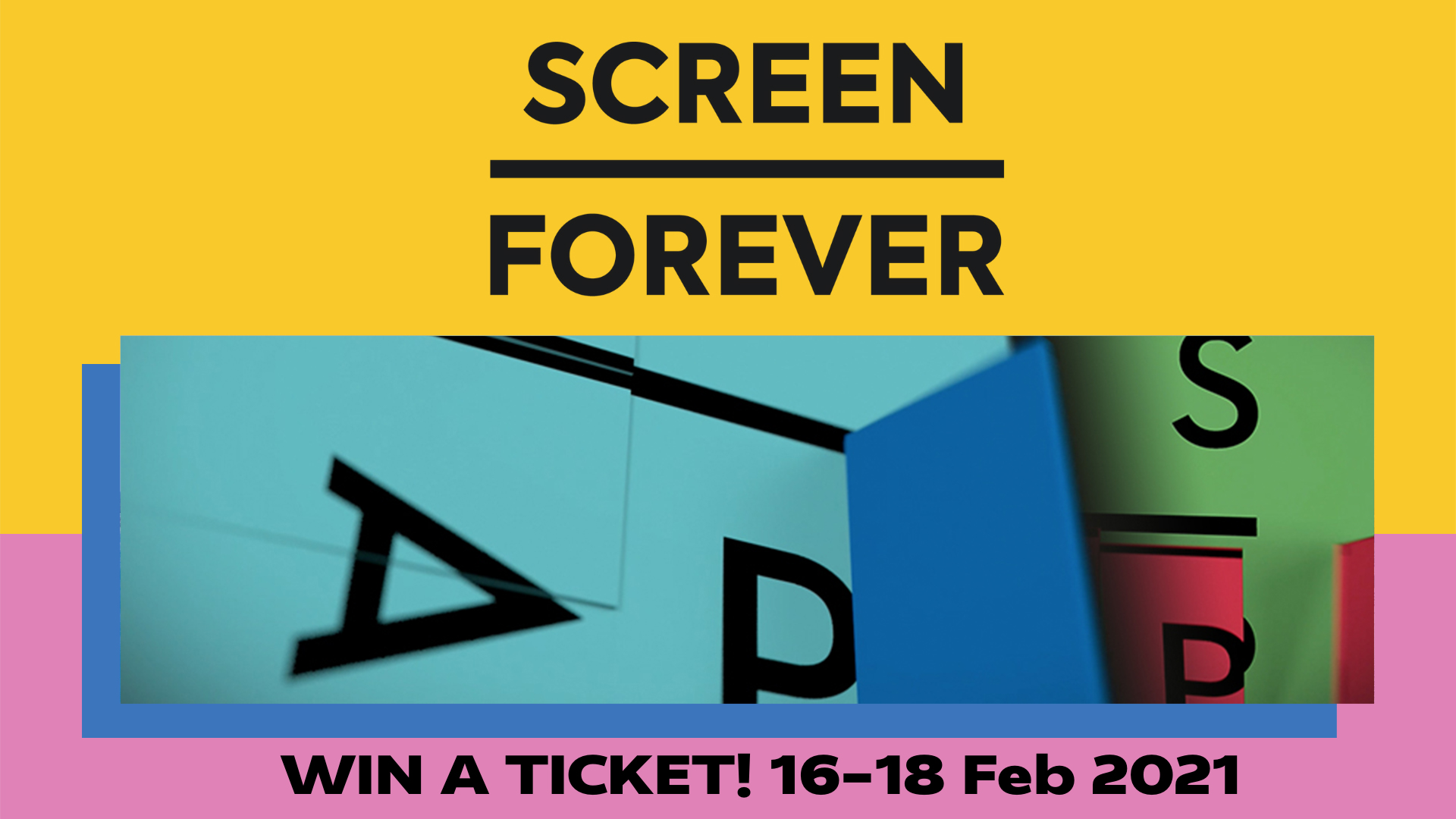 Screen Forever Digital Bronze Pass Giveaway
